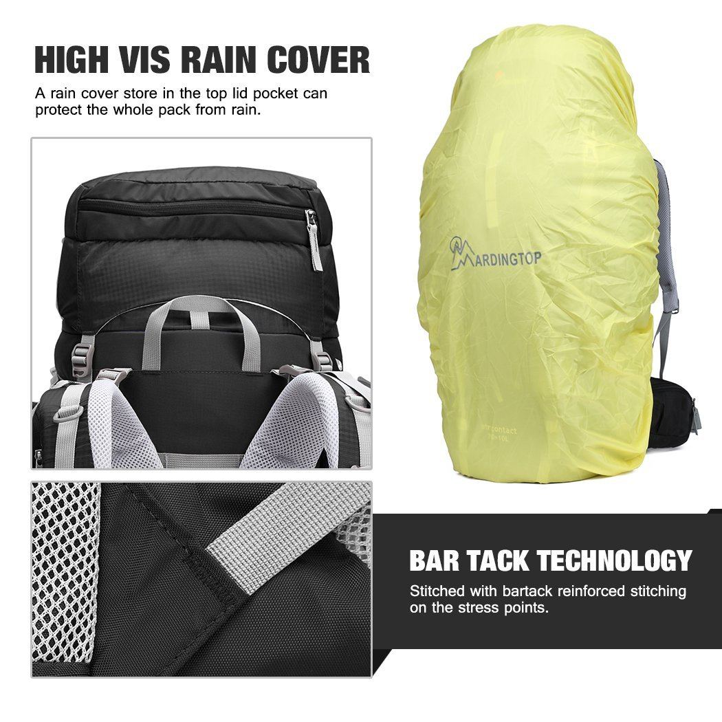 Mountaintop B01LWTRJOR Backpack capa de lluvia