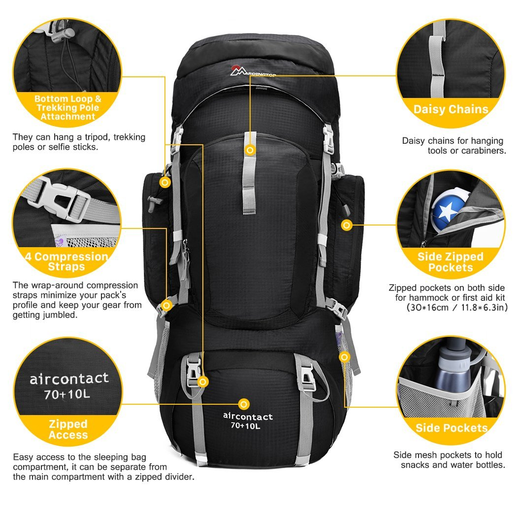 Mountaintop B01LWTRJOR Backpack