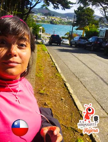 Yendo a la rambla de Ancud - Isla Chiloé - Enero 2018