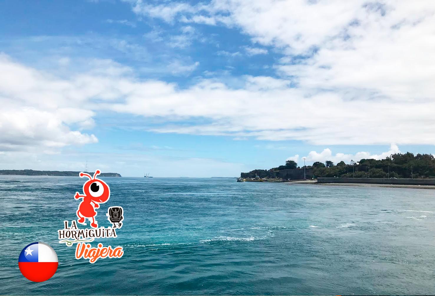 Llegando a Chacao - Transbordador - Isla Chiloé - Enero 2018.