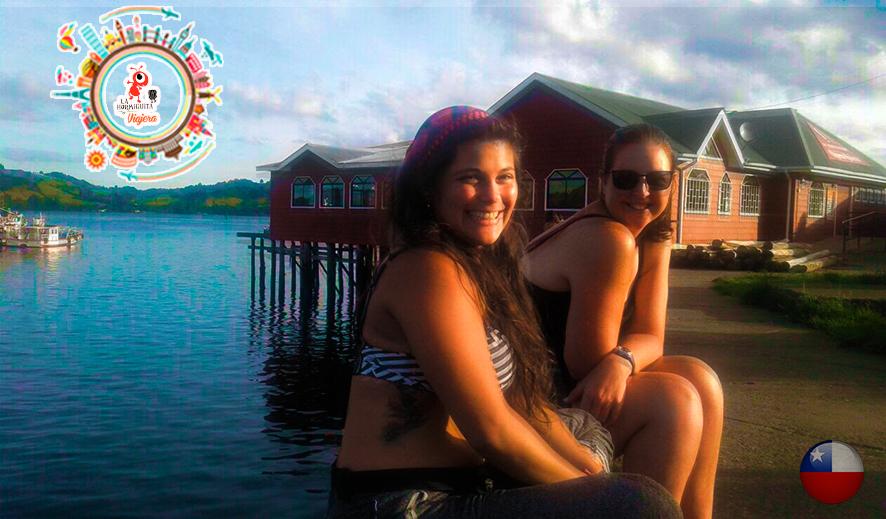 Isla Chiloé - Palafitos con Carol