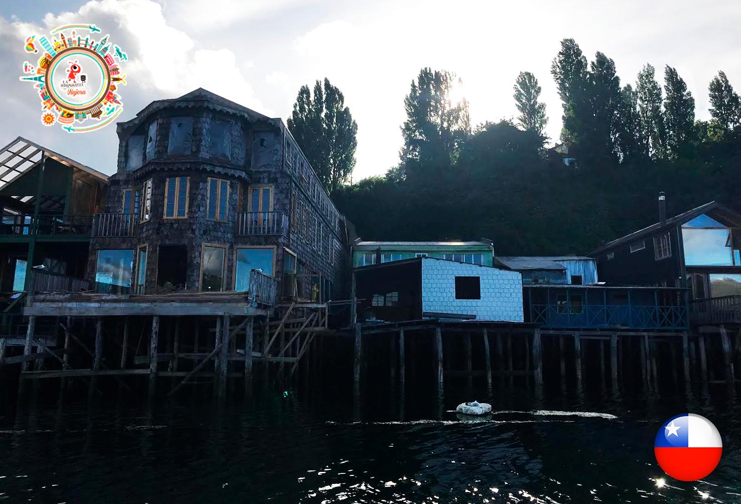 Los Palafitos en Castro - Isla Chiloé - Enero 2018.