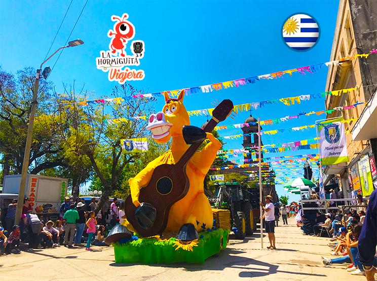 Carroza - Desfile de la Primavera 2018