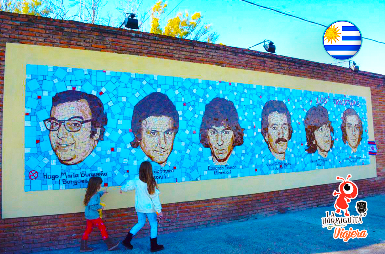 Mural a los Iracundos, obra del artista argentino Néstor Medrano - Fuente: https://www.paysandu.gub.uy