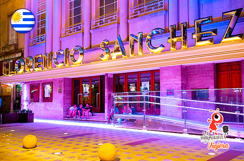 Teatro Florencio Sanchez - Fente: www.radiouruguay.uy