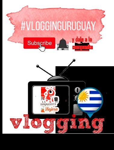 Vlogging Uruguay suscribe y campanita
